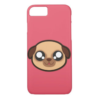 Kawaii funny dog apple case for iphone7