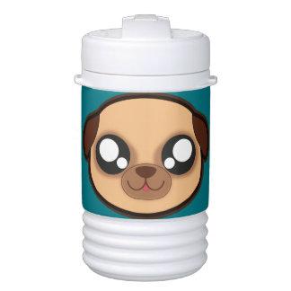 Kawaii funny dog beverage cooler