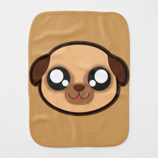 Kawaii funny dog burp cloth