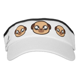 Kawaii funny dog head visor