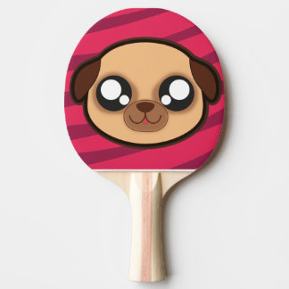 Kawaii funny dog ping pong paddle