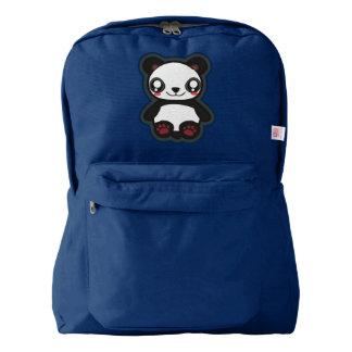 Kawaii funny panda backpack