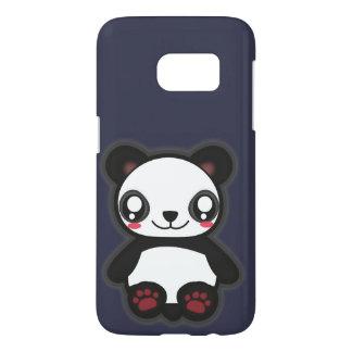 Kawaii funny panda case for galaxy s7