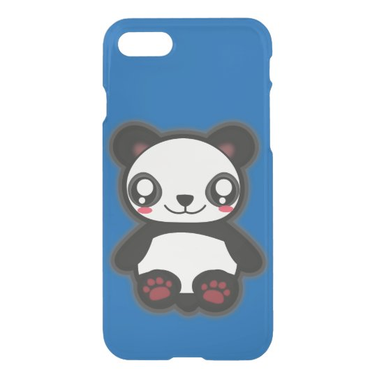 Kawaii funny panda iphone7 case