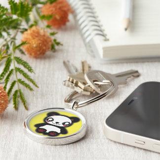 Kawaii funny panda keychain