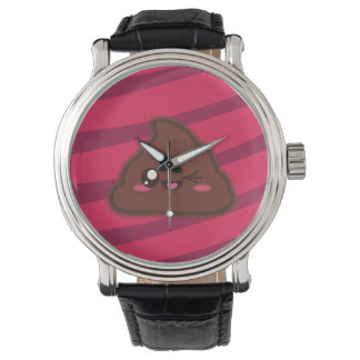 Kawaii funny poop watch