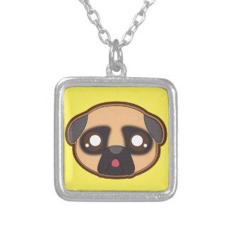 Kawaii funny pug necklace