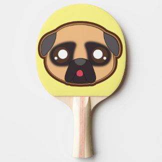 Kawaii funny pug pingpong paddle ping pong paddle