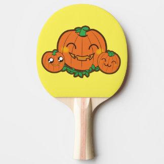 Kawaii funny Pumpkin Ping Pong Paddle