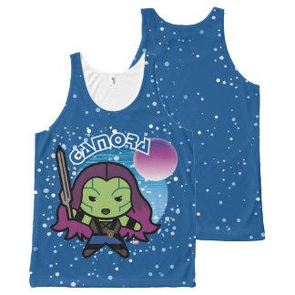 Kawaii Gamora In Space All-Over-Print Tank Top