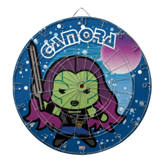 Kawaii Gamora In Space Dartboard