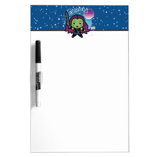 Kawaii Gamora In Space Dry Erase Board