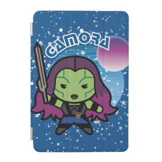 Kawaii Gamora In Space iPad Mini Cover