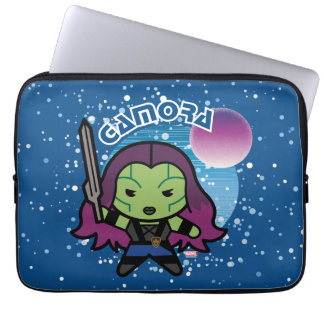 Kawaii Gamora In Space Laptop Sleeve