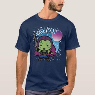 Kawaii Gamora In Space T-Shirt