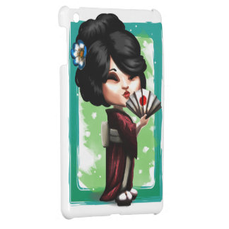 Kawaii Geisha iPad Mini Cases