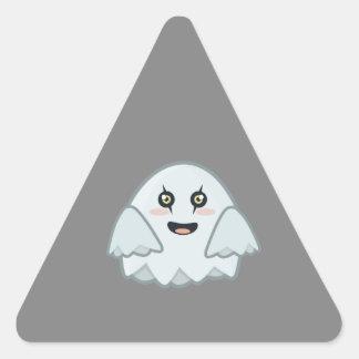 Kawaii Ghost Triangle Sticker