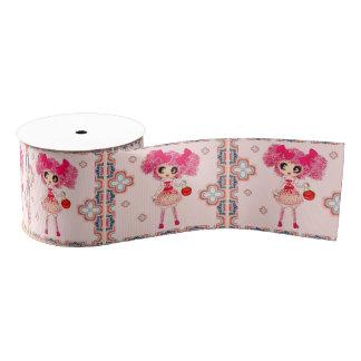 Kawaii Girl PinkyP sweet lolita Grosgrain Ribbon