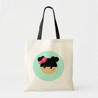Kawaii girl tote bag