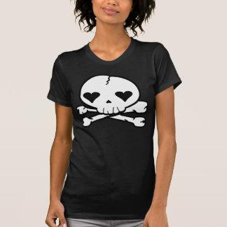 Kawaii Goth Skull T-Shirt