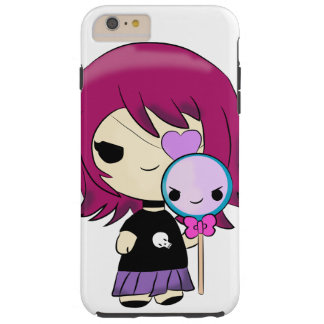 Kawaii gothic girl I phone 6/6s case