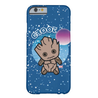 Kawaii Groot In Space Barely There iPhone 6 Case