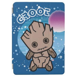 Kawaii Groot In Space iPad Air Cover