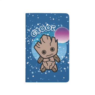 Kawaii Groot In Space Journal