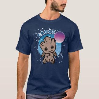Kawaii Groot In Space T-Shirt