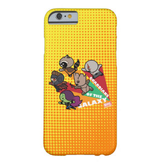 Kawaii Guardians of the Galaxy Group Jump Barely There iPhone 6 Case