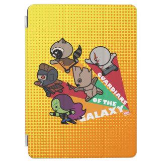 Kawaii Guardians of the Galaxy Group Jump iPad Air Cover