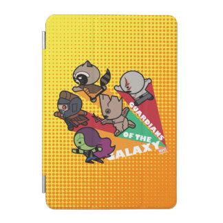 Kawaii Guardians of the Galaxy Group Jump iPad Mini Cover