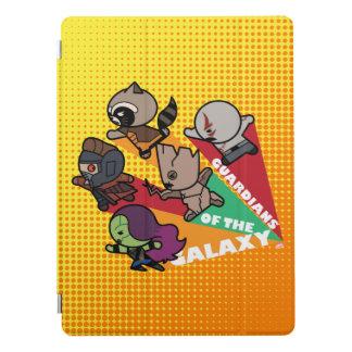 Kawaii Guardians of the Galaxy Group Jump iPad Pro Cover