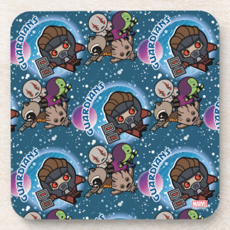Kawaii Guardians of the Galaxy Pattern Coaster