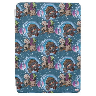 Kawaii Guardians of the Galaxy Pattern iPad Air Cover