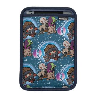 Kawaii Guardians of the Galaxy Pattern iPad Mini Sleeve