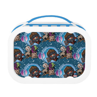 Kawaii Guardians of the Galaxy Pattern Lunch Box