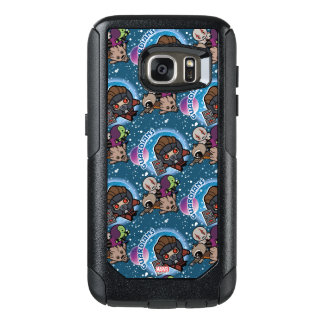 Kawaii Guardians of the Galaxy Pattern OtterBox Samsung Galaxy S7 Case