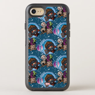 Kawaii Guardians of the Galaxy Pattern OtterBox Symmetry iPhone 8/7 Case