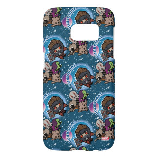 Kawaii Guardians of the Galaxy Pattern Samsung Galaxy S7 Case