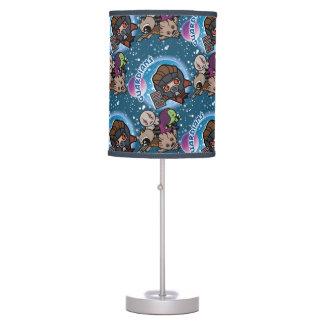 Kawaii Guardians of the Galaxy Pattern Table Lamp