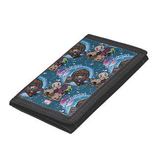 Kawaii Guardians of the Galaxy Pattern Tri-fold Wallet