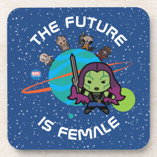 Kawaii Guardians of the Galaxy Planet Graphic Coaster