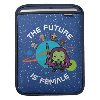 Kawaii Guardians of the Galaxy Planet Graphic iPad Sleeve