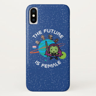 Kawaii Guardians of the Galaxy Planet Graphic iPhone X Case