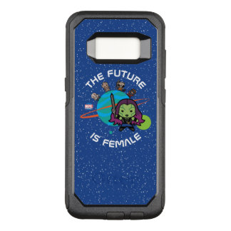 Kawaii Guardians of the Galaxy Planet Graphic OtterBox Commuter Samsung Galaxy S8 Case