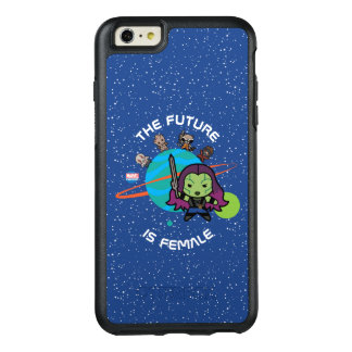 Kawaii Guardians of the Galaxy Planet Graphic OtterBox iPhone 6/6s Plus Case
