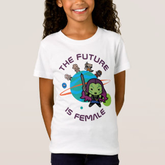 Kawaii Guardians of the Galaxy Planet Graphic T-Shirt