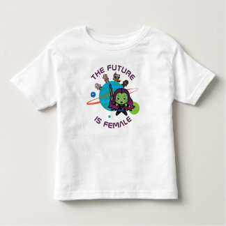 Kawaii Guardians of the Galaxy Planet Graphic Toddler T-shirt
