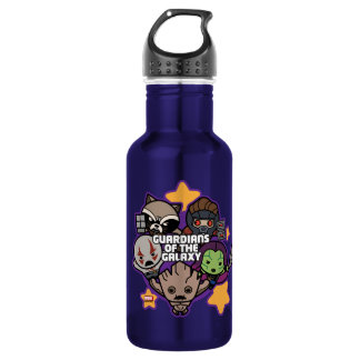Kawaii Guardians of the Galaxy Star Graphic 532 Ml Water Bottle
